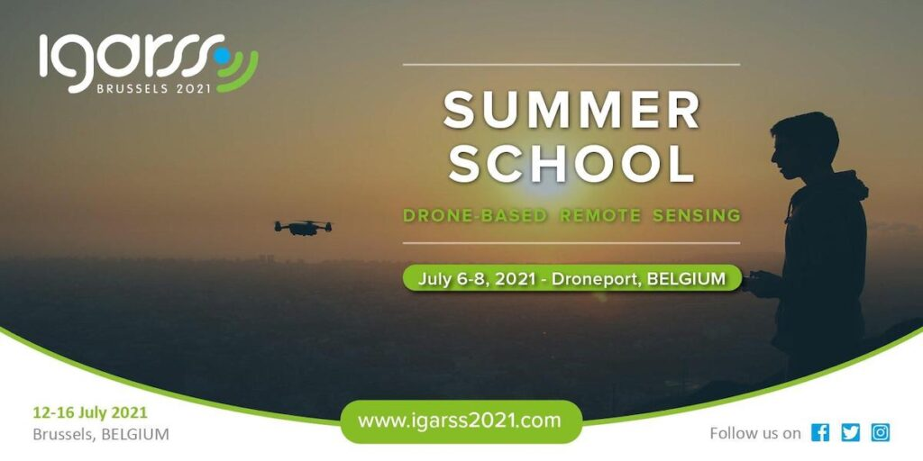 IGRSS summer school drones graphic